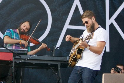 Heimspiel - Fotos: Mighty Oaks live beim Lollapalooza 2015 in Berlin