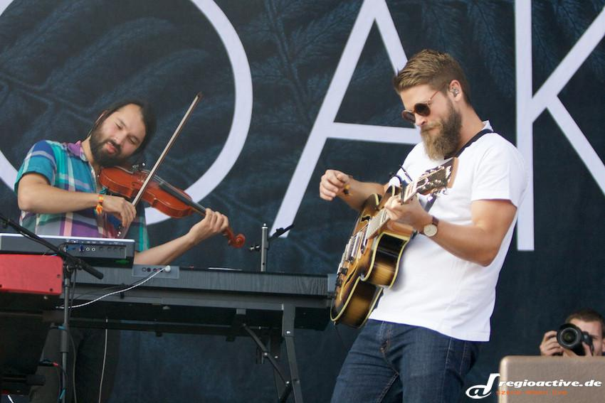 Mighty Oaks (live beim Lollapalooza 2015 in Berlin)
