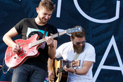 Fotos: Mighty Oaks live beim Lollapalooza 2015 in Berlin