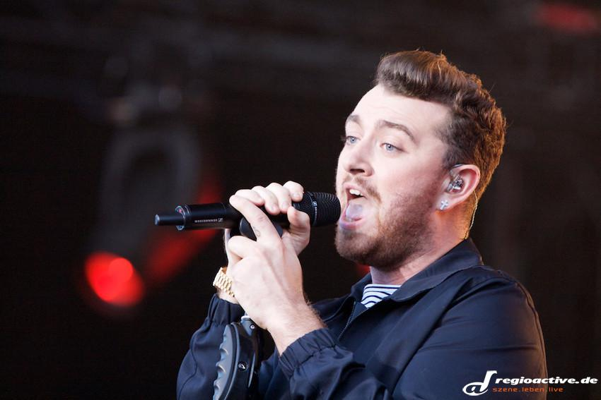 Sam Smith (live beim Lollapalooza 2015 in Berlin)